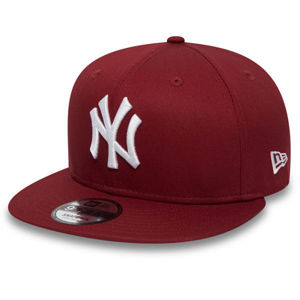 Šiltovka New Era 9Fifty MLB League Esential NY Yankees Snapback Hot Red - Farba: Červená, Pohlavie: UNI, Size: S/M