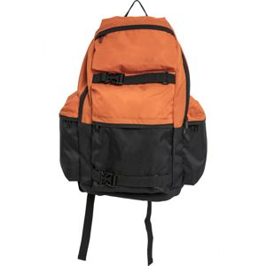 Batoh Urban Classics Backpack Colourblocking vibrantorange/black