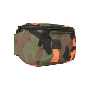 Ľadvinka Urban Classics Camo Hip Bag orange camo