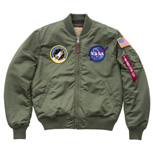 Pánska bombera Alpha Industries MA-1 VF NASA Sage Green Pohlavie: pánske, Size: L
