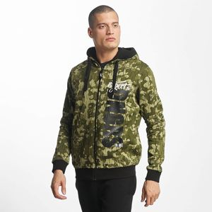 Pánska mikina Dangerous DNGRS / Zip Hoodie Unexpected in camouflage Pohlavie: pánske, Size: S