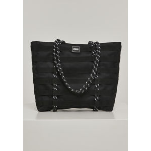 Taška Urban Classics Worker Shopper Bag black
