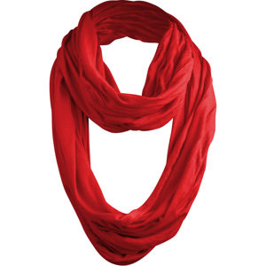 Šál MSTRDS Wrinkle Loop Scarf red