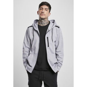 Pánska mikina SOUTHPOLE Taped Tech Fleece Full Farba: heather grey, Grösse: S