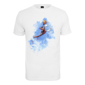 MR.TEE Basketball Clouds Tee Farba: white, Grösse: S