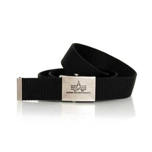 Opasok Alpha Industries Heavy Duty Belt 4cm Black